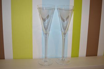 Svadobné poháre ešte trošku upraviť a bude to OK ;)