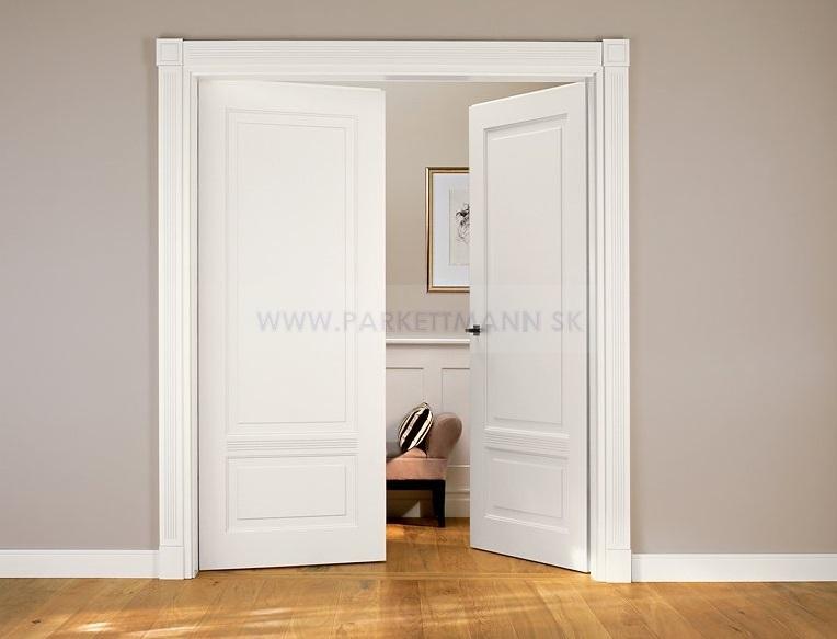 Vysoké biele parketové lišty - Obrázok č. 17