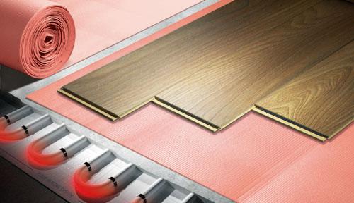 Podložky pod plávajúce podlahy - vhodné aj na podlahové vykurovanie - Cezar Thermo