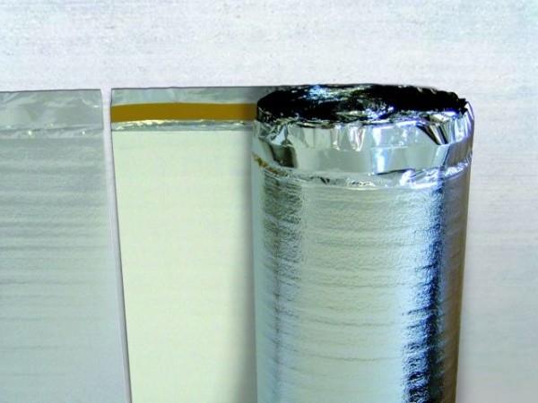 Podložky pod plávajúce podlahy - vhodné aj na podlahové vykurovanie - Izoflex Star 3v1