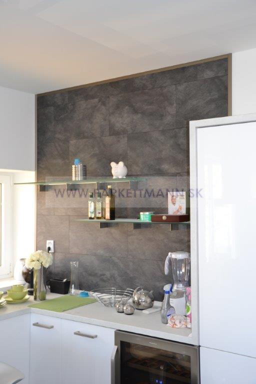 Z našich realizácií : Laminátové podlahy Classen Fresco - Laminátová podlaha Visiogrande ako obklad na stene