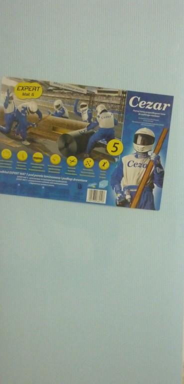 Podložka pod plávajúce podlahy CEZAR 5mm - Obrázok č. 1