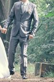 Oblek pro ženicha, zn. Marc Darcy London, 40