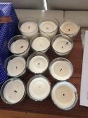 Svíčky - 12ks - krémová/vanilková,