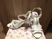 zánovní svatební sandály na podpatku, 37