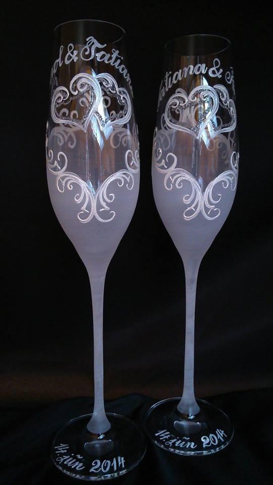 Svadobné poháre - Svadobná a eventová agentúra Livastyl pár 38€