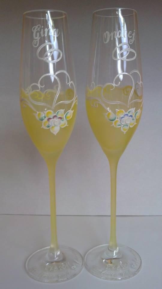 Svadobné poháre - Svadobná a eventová agentúra Livastyl pár 36€