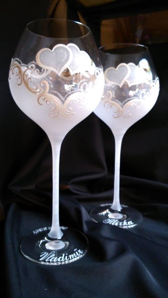 Svadobné poháre - Svadobná a eventová agentúra Livastyl pár 40€