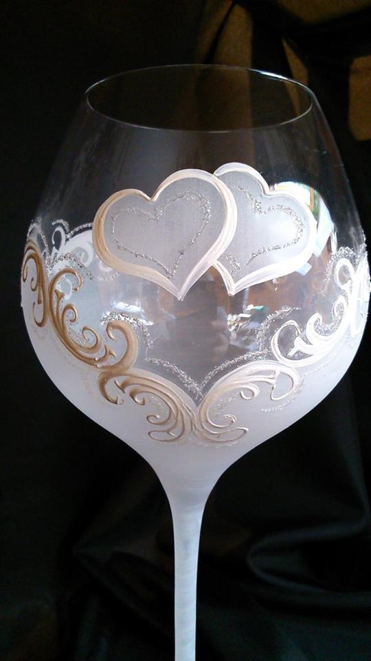 Svadobné poháre - Obrázok č. 12
