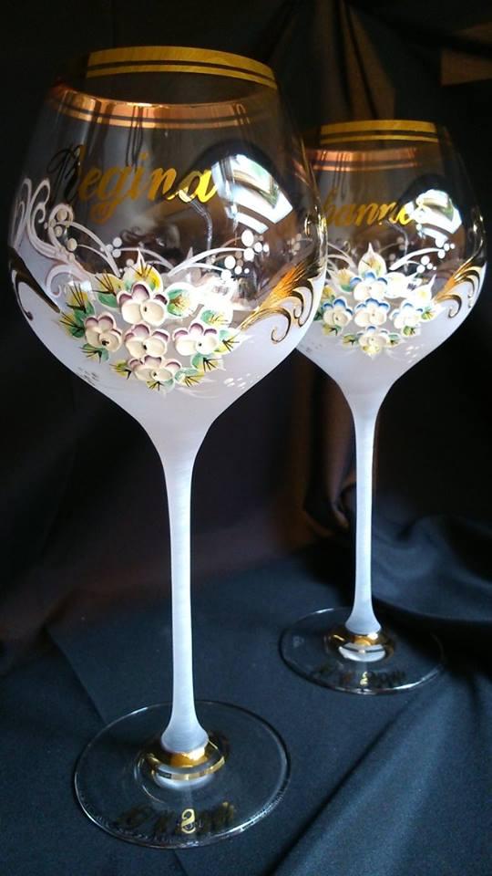 Svadobné poháre - Svadobná a eventová agentúra Livastyl pár 44€