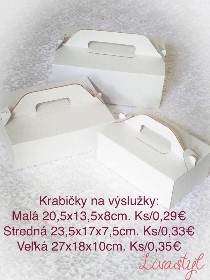 krabičky na zákusky máme... - Obrázok č. 1