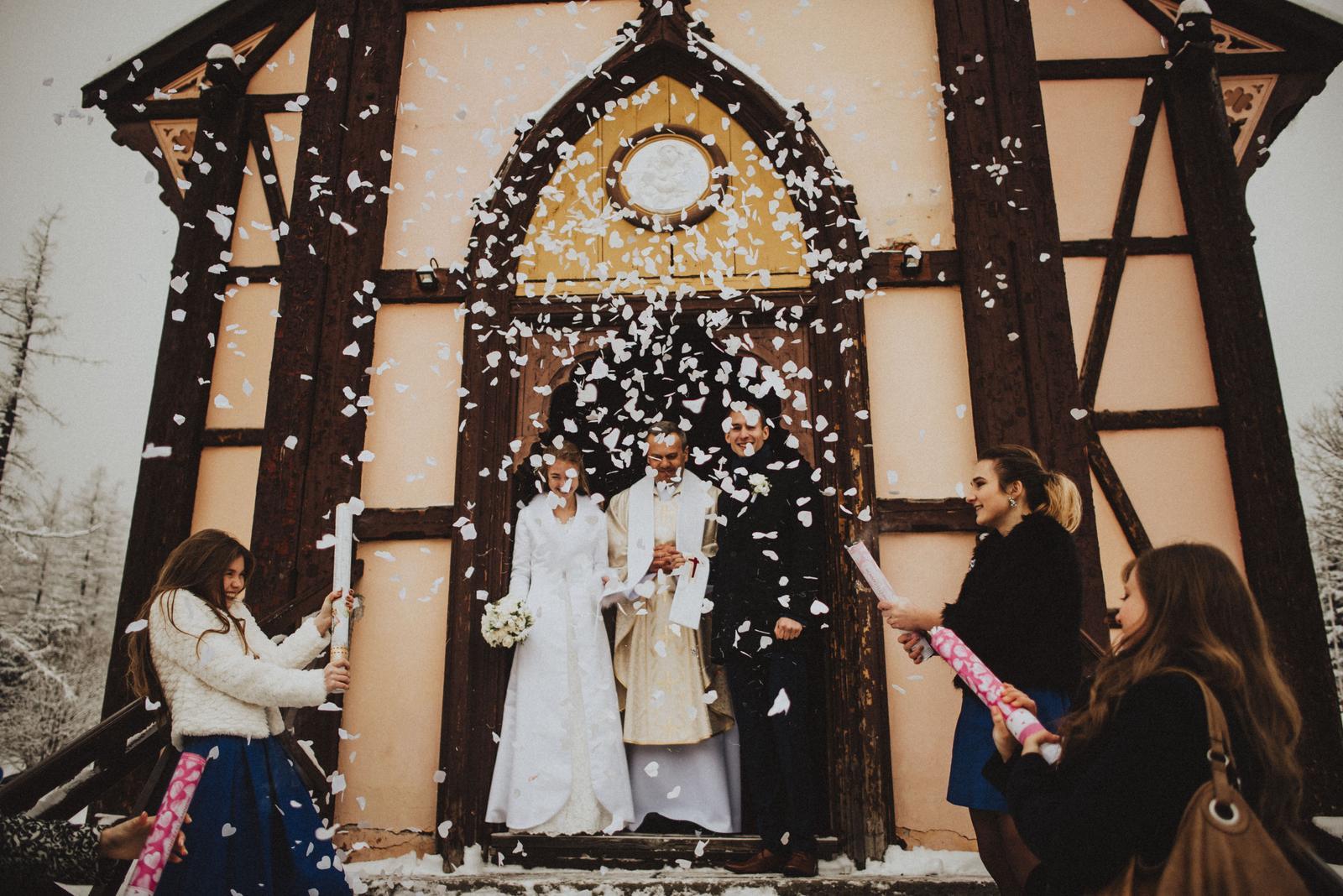 Tatranská zimná svadba - ola!