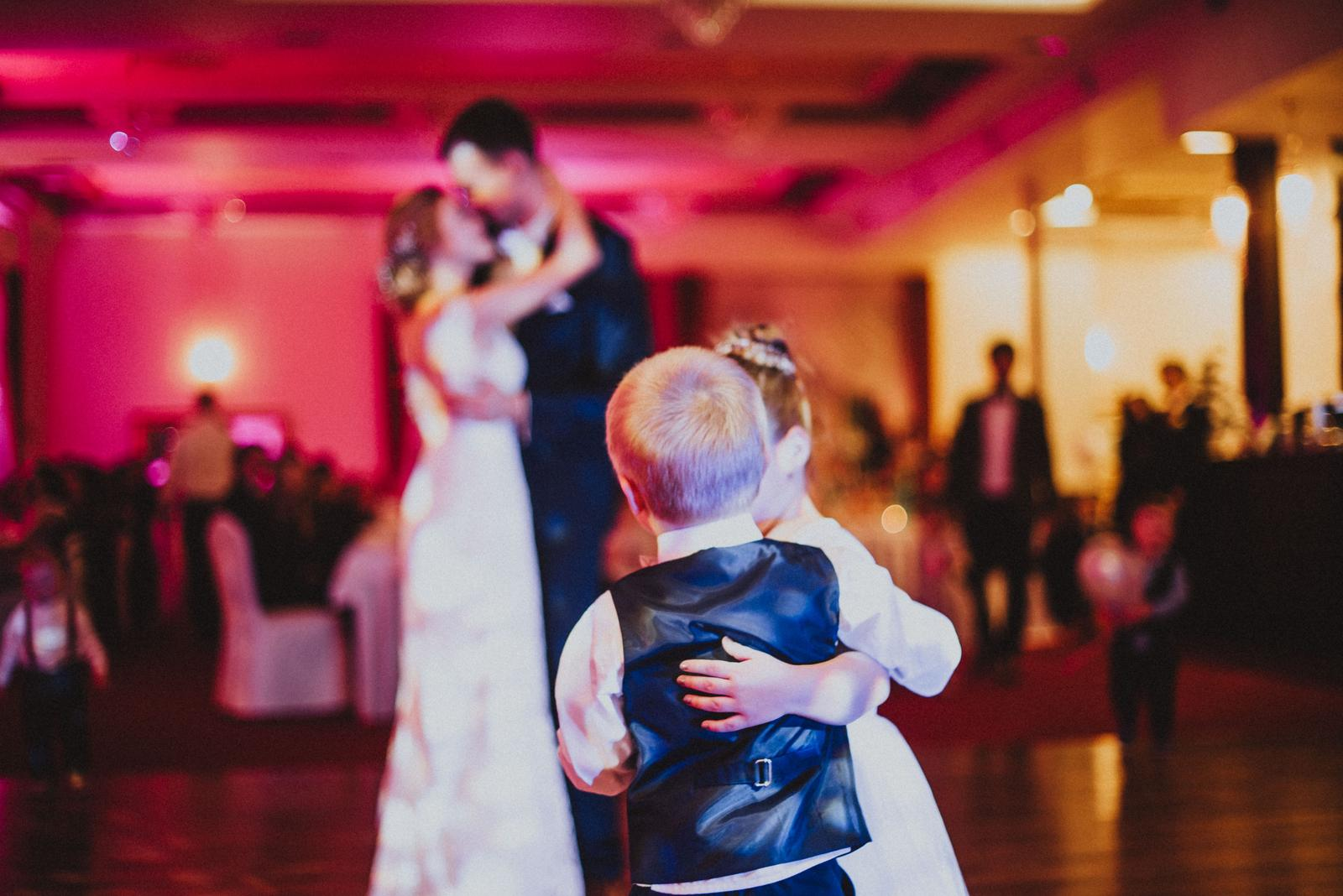 Tatranská zimná svadba - svadobný tanec