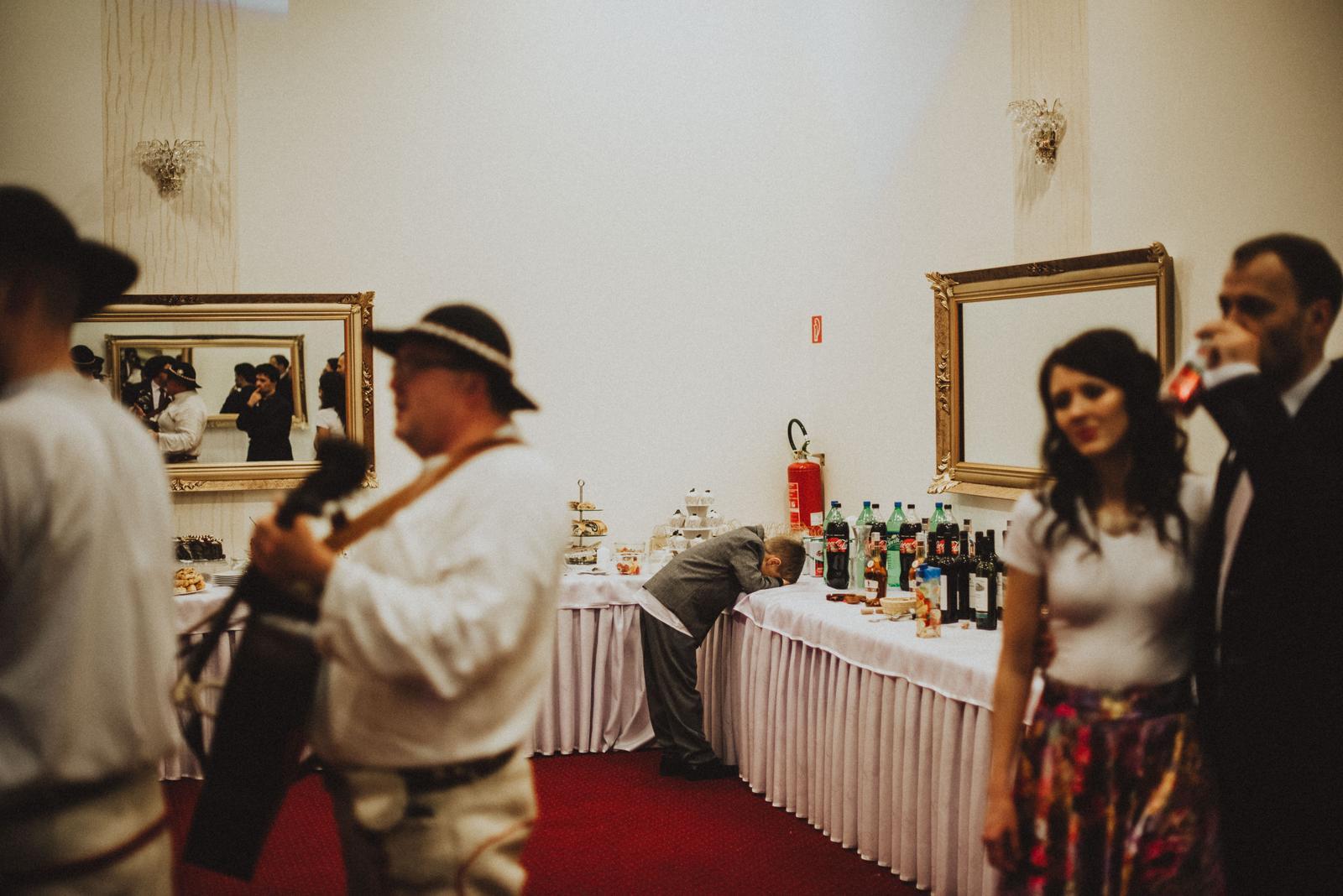 Tatranská zimná svadba - niektorí asi veľa popili
