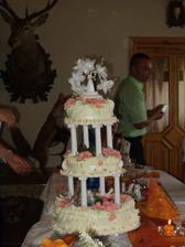 ještě jednou dort, trochu se roztékal