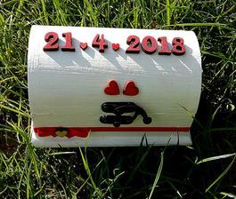 Naša krabička na obrúčky