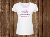 Svatební tričko Svobodná žena - datum expirace,