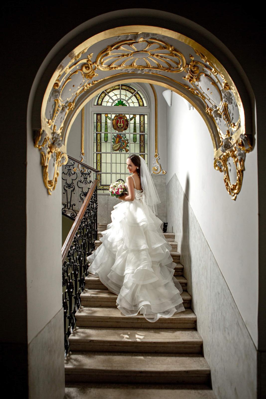Exkluzívne svadobné šaty Allure Bridals - Obrázok č. 1