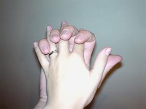 ještě jeden nápad (můj zásnubní prstýnek...)