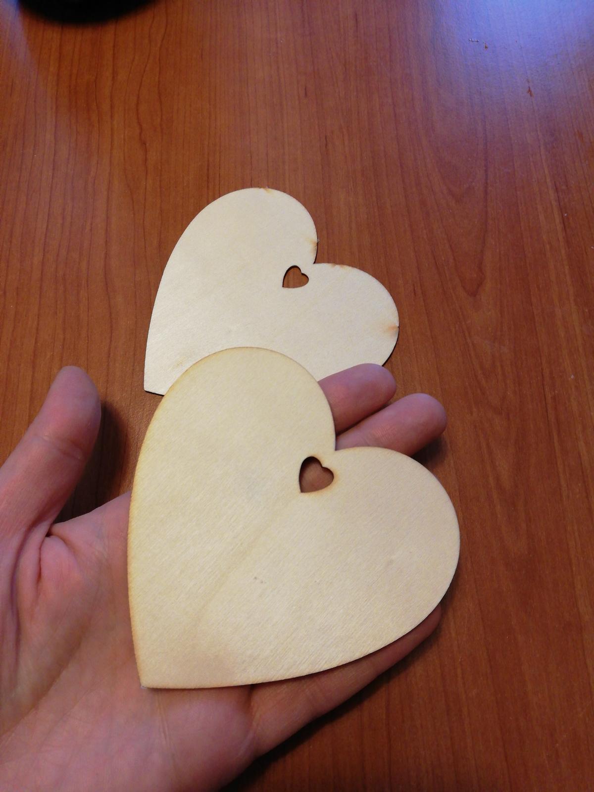 Velká srdce 10cm - Obrázek č. 1