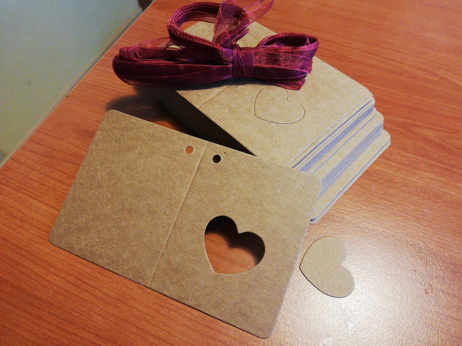 Cedulky, označení např na krabičky  - Obrázek č. 1