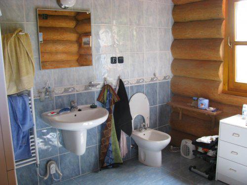 Jak se žije ve srubu - Koupelna ve srubu