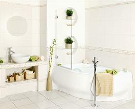 brzy budeme mít i novou koupelnu, tyhle obklady, trochu jinou vanu a hranaté umyvadlo (kjoto, siko)