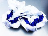 Svatební námořnický podvazek - velikost universál, M