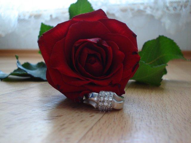 28.10.2006-náš najkrajší dník.. - môj zásnubný prstienok