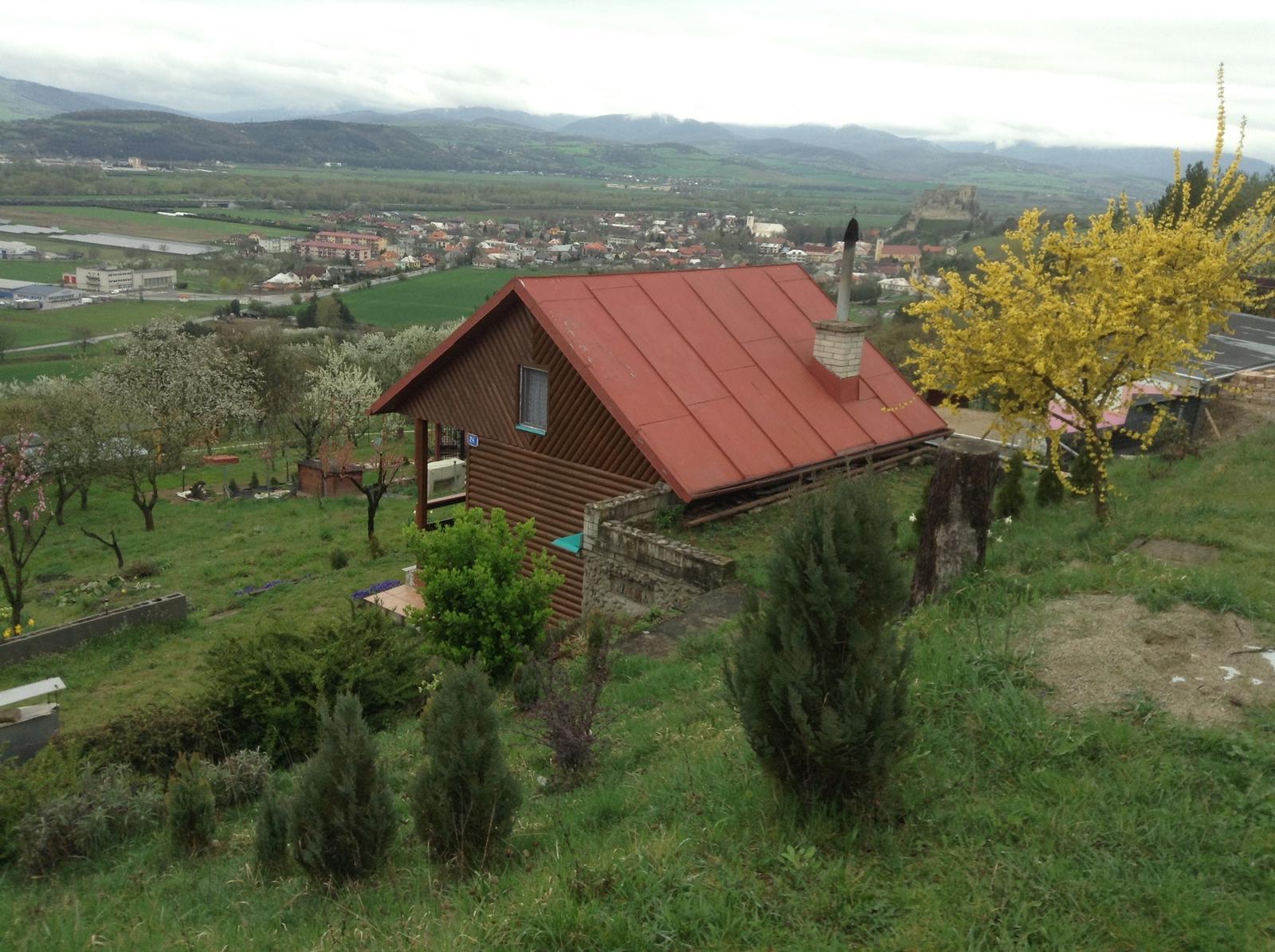 """""""Domček"""" - dávam do pozornosti ten úžasný výhľad - aj za zamračeného a daždivého počasia :)"""
