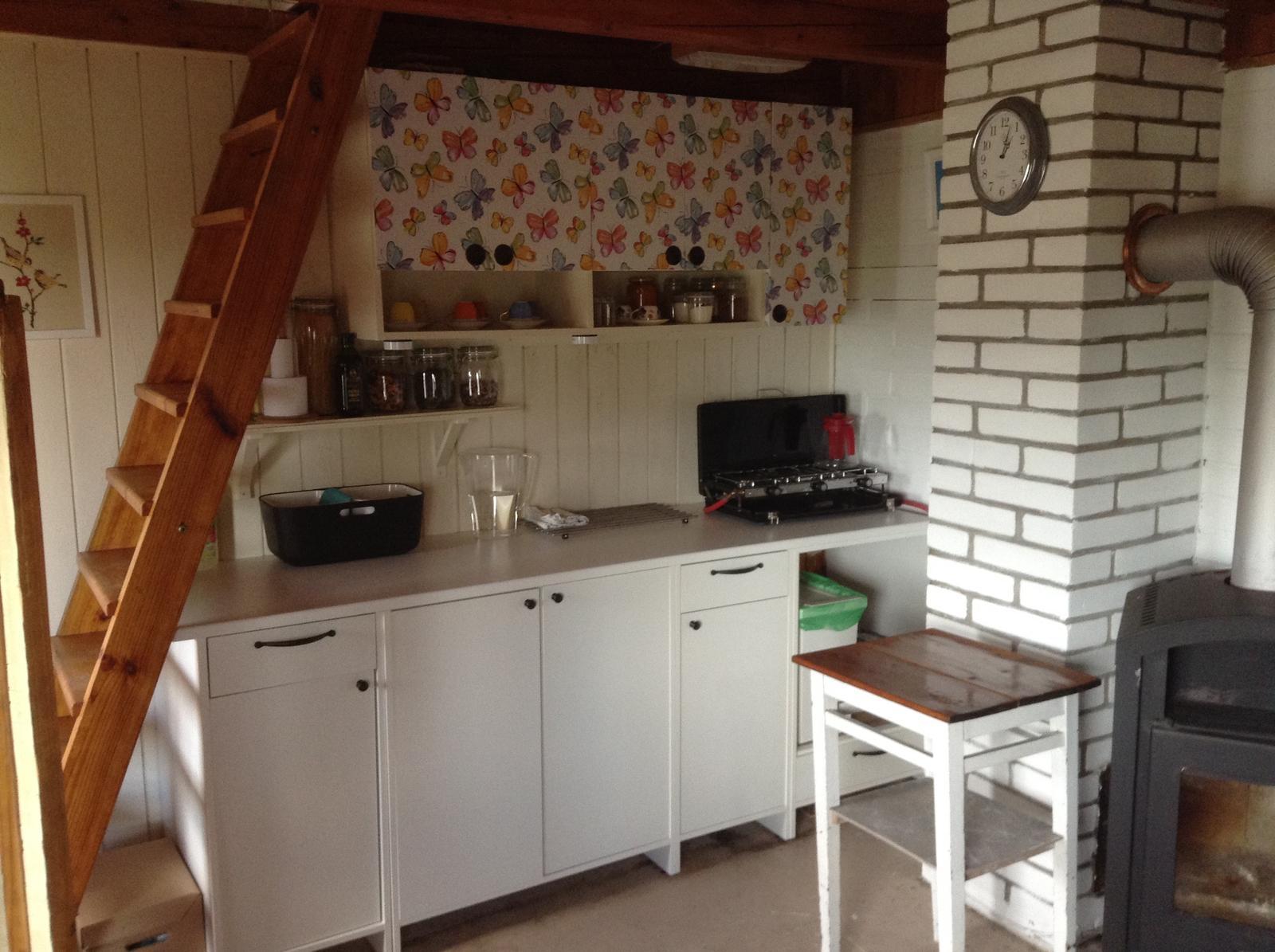 """""""Domček"""" - kuchynská stena vo všetkej paráde"""