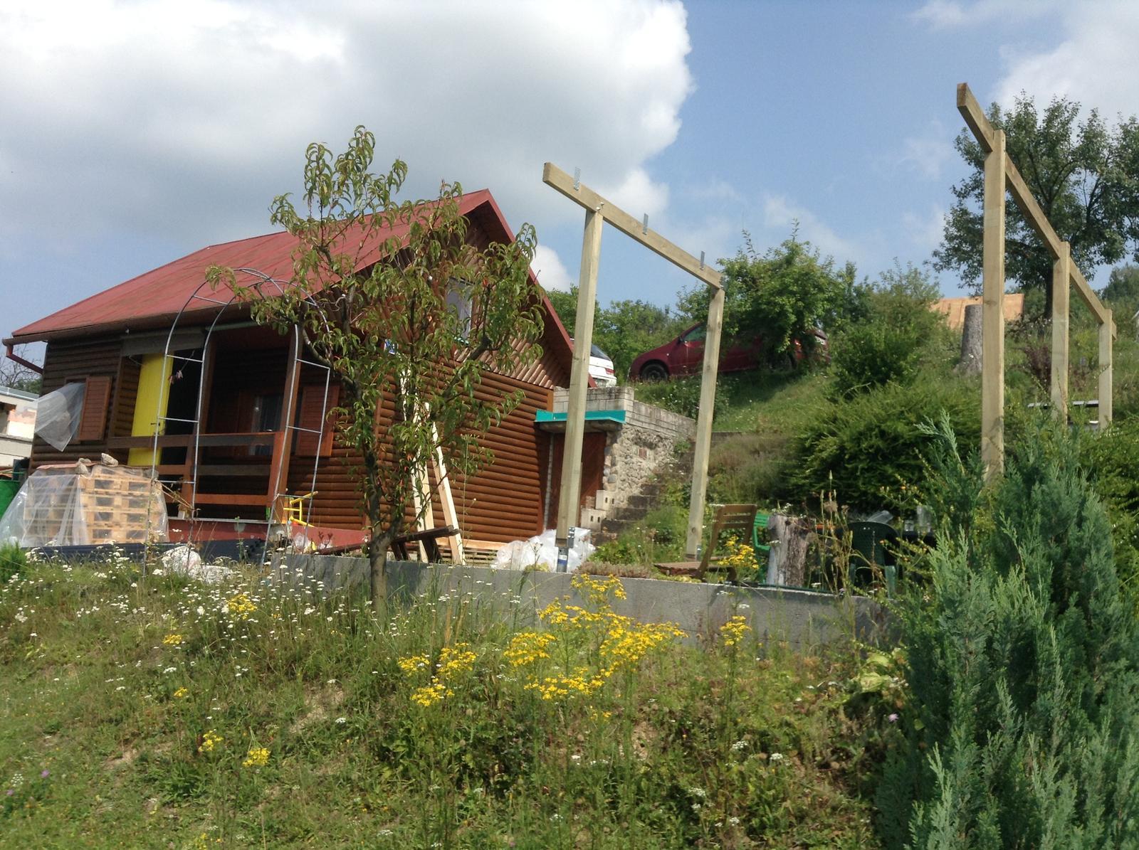 Domček - stavba altánku - Obrázok č. 304
