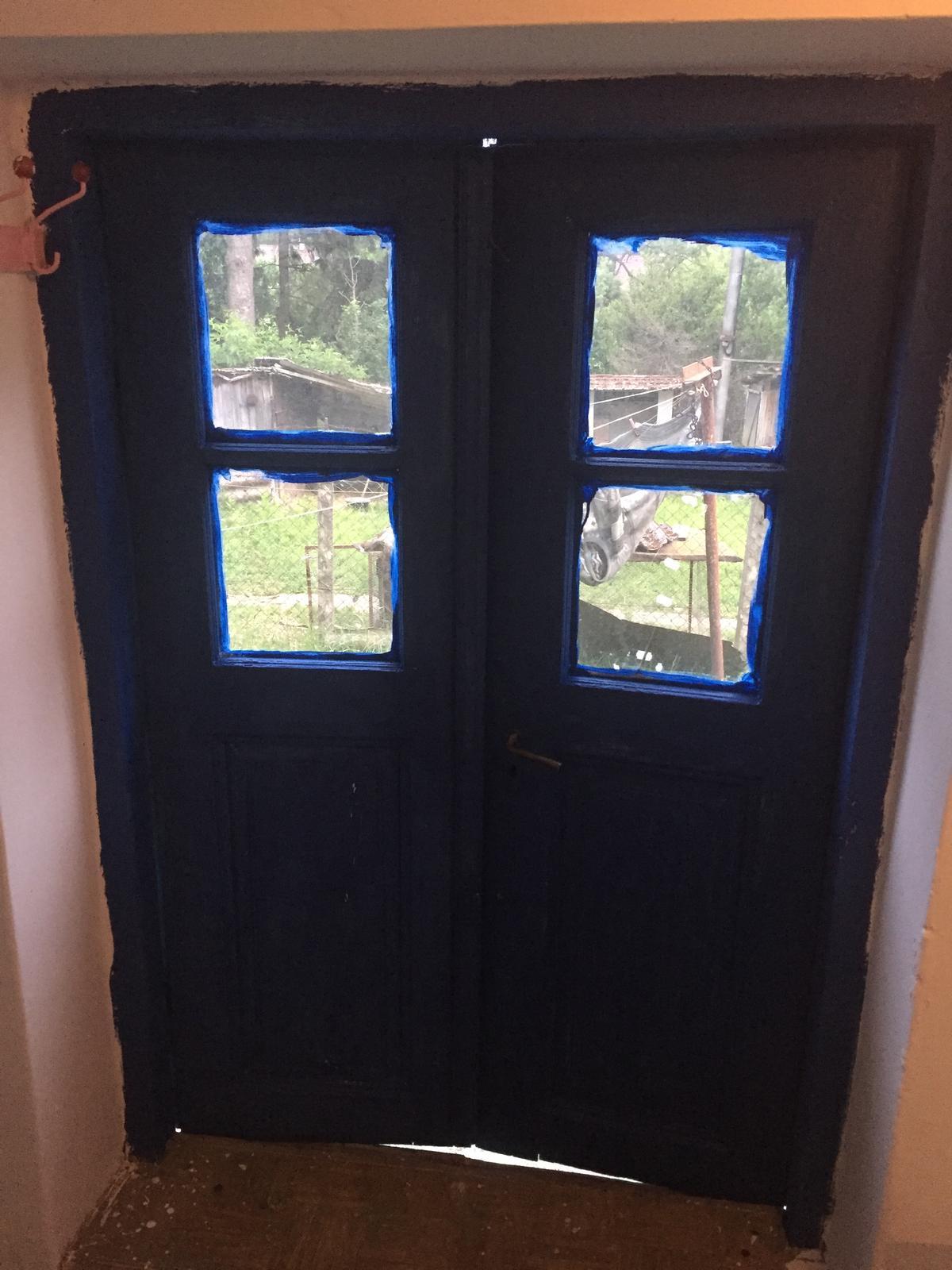 Perníková chalúpka - vstupne dvere