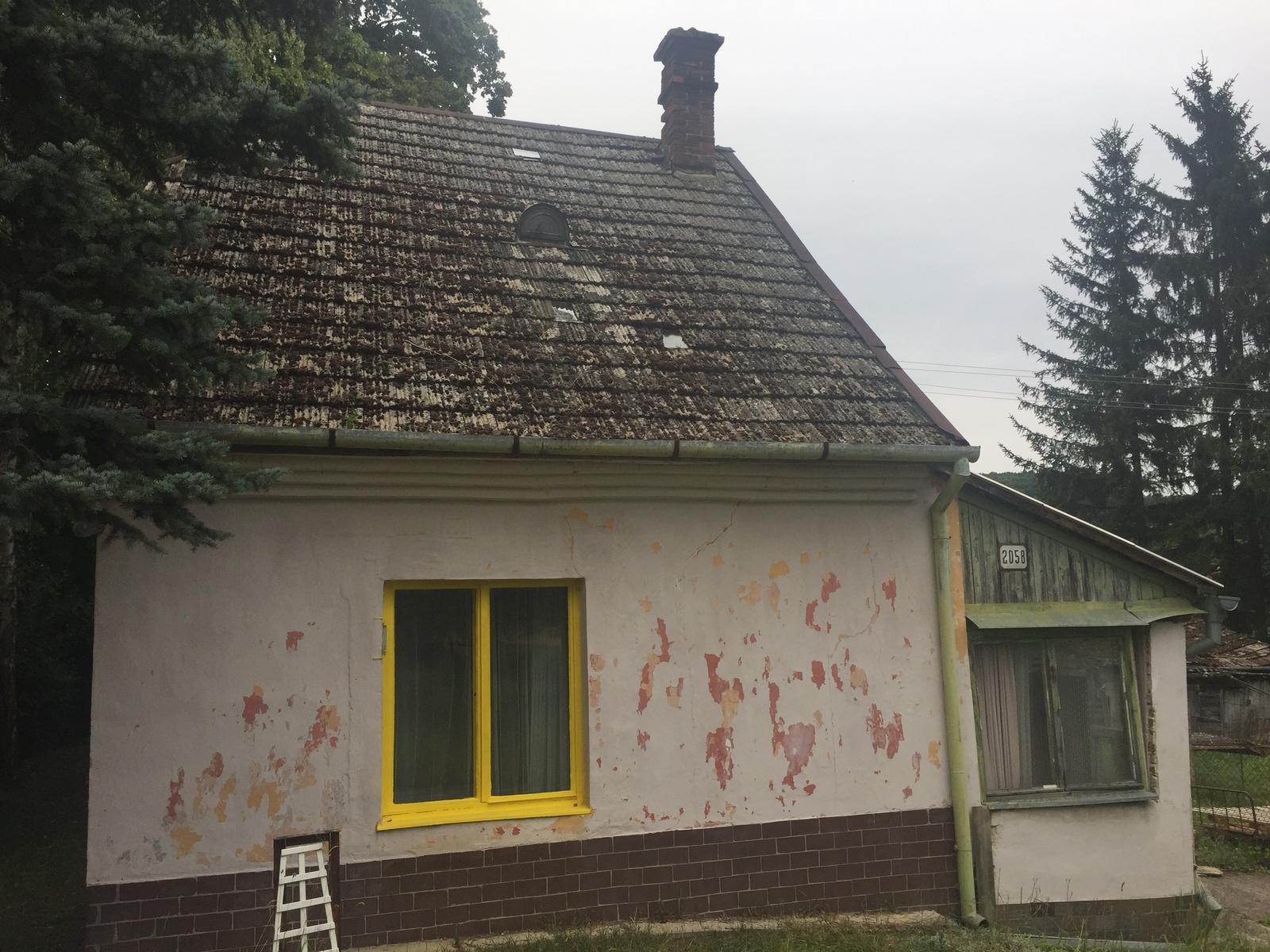 Dom - idem riešiť strechu..