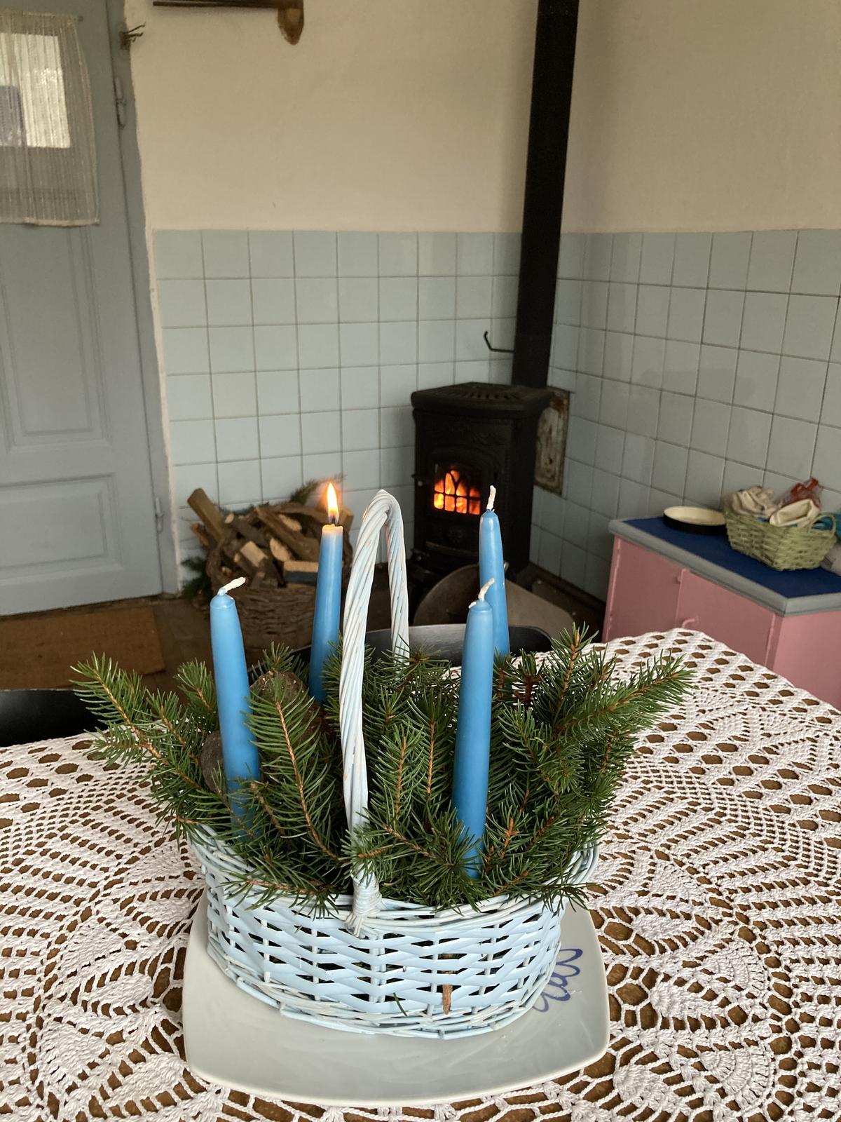 Dom - prvá adventná na prvý advent v tomto dome ;)