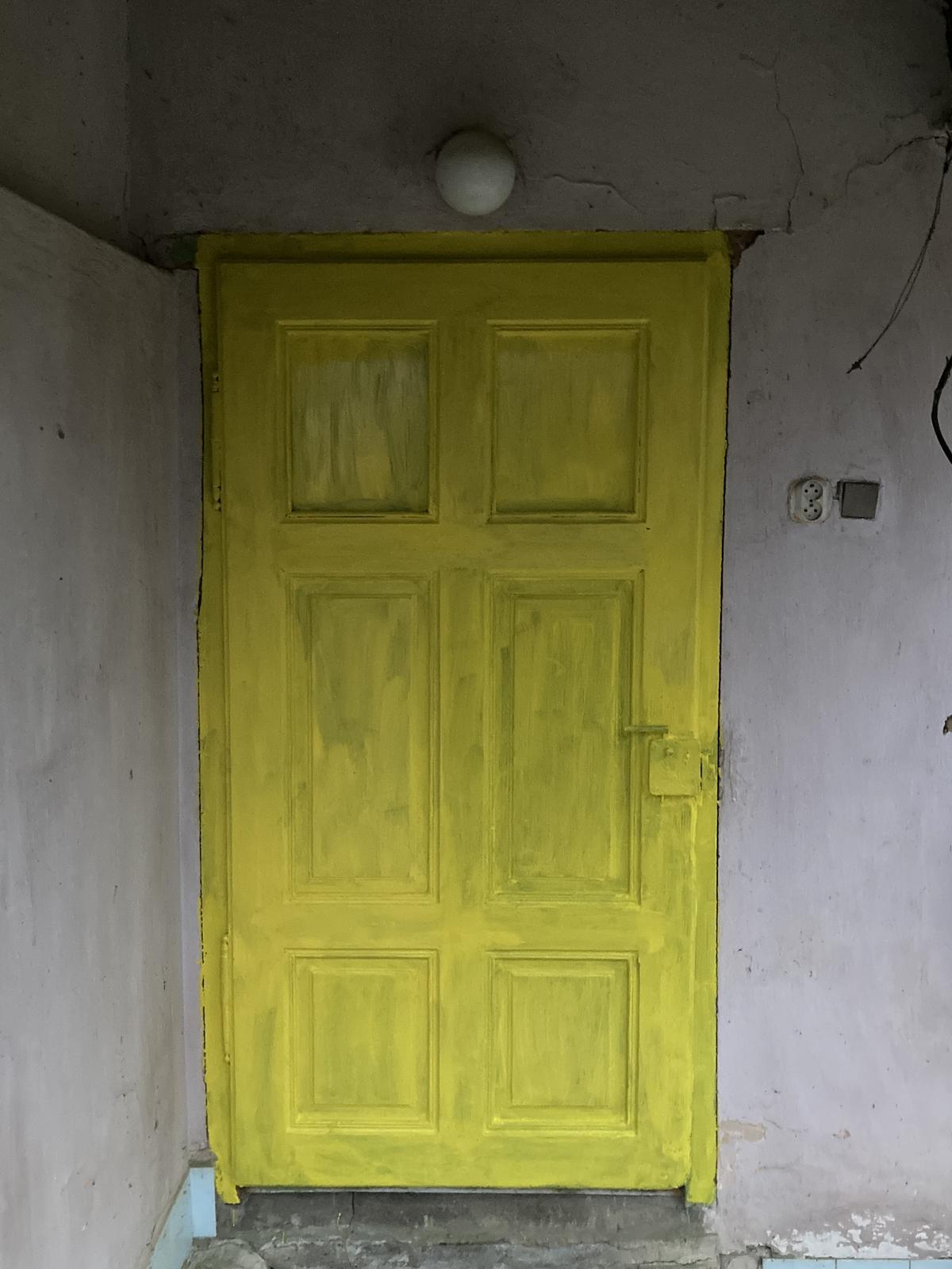 Dom - ...prvá vrstva...    už bola tma na druhú ;)