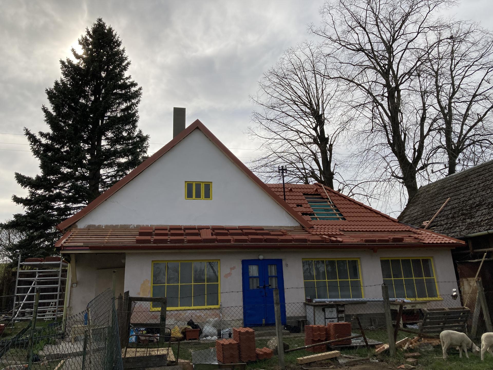 Dom - uz sa crta aj stresne okno kde bude ;)
