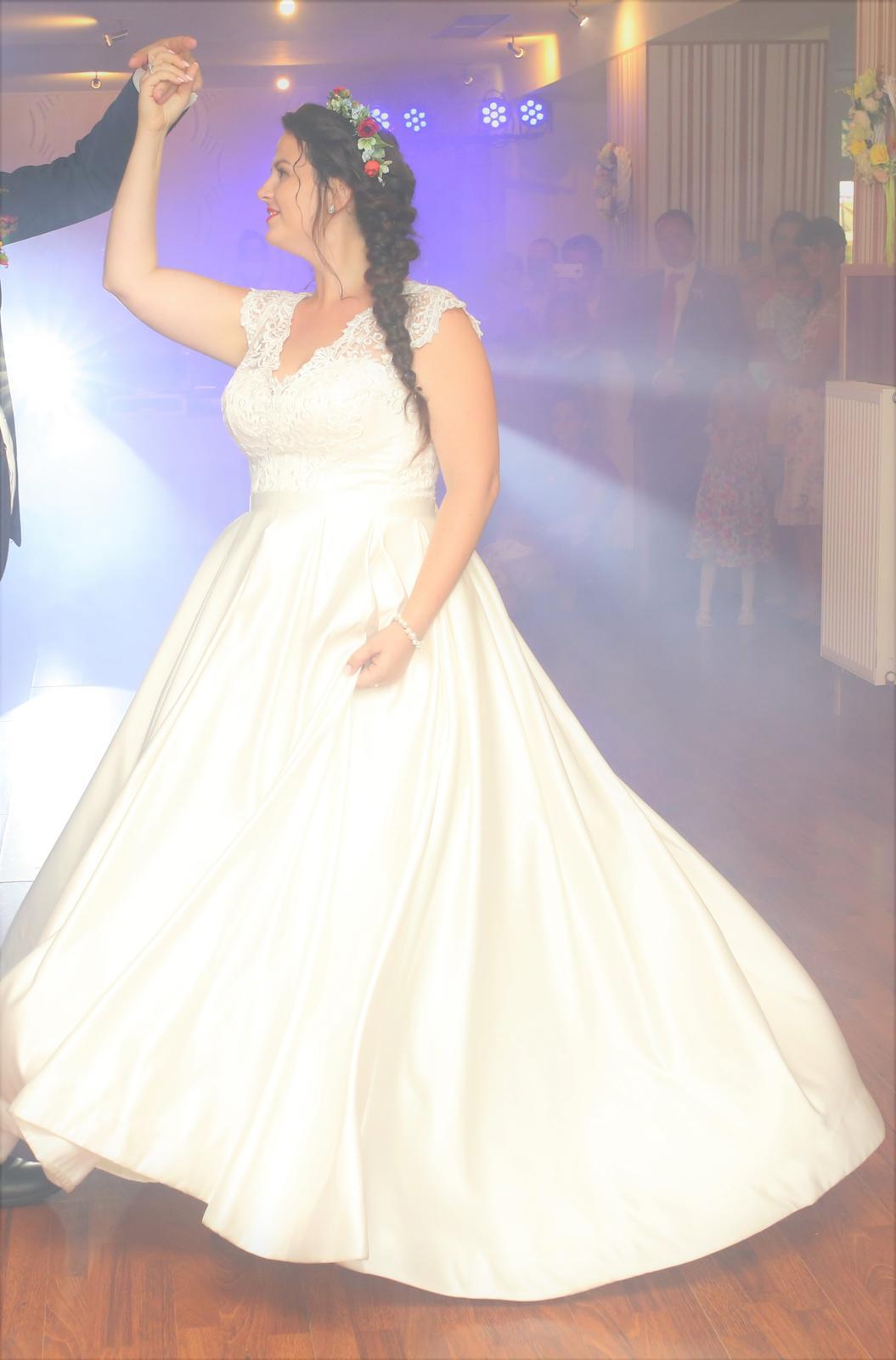 Svadobné šaty veľ. 42 (40-44) - Obrázok č. 3