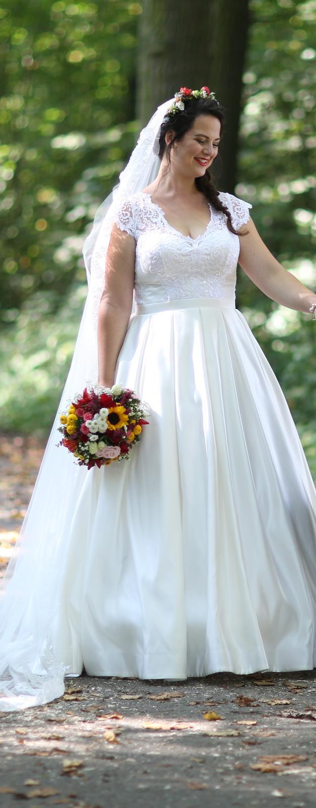 Svadobné šaty veľ. 42 (40-44) - Obrázok č. 4