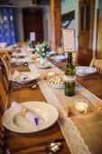 Sada na svatební stůl - vázy a svícínky,