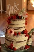 Zápich na dort nebo do květiny Mr&Mrs,