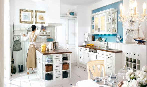 Drevo a biela v kuchyni - Obrázok č. 11