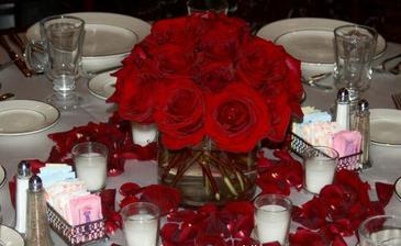 Květiny na stůl.