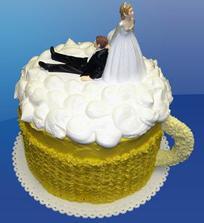 Velmi originální dort.