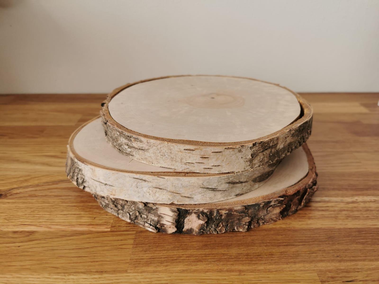 Březové kulatiny 15–20 cm - Obrázek č. 1