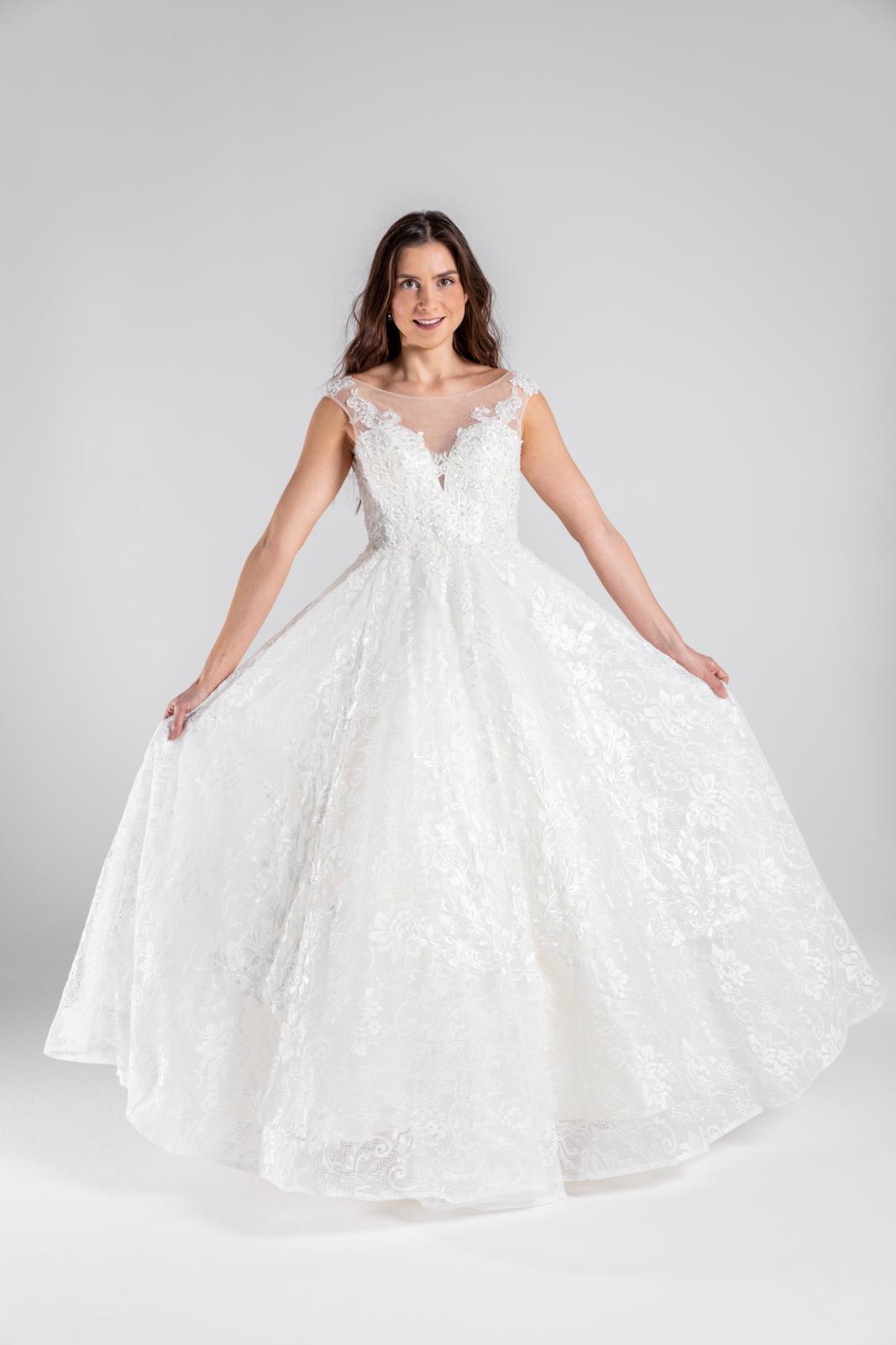 Princeznovské svatební šaty, vel 34-40 - Obrázek č. 1