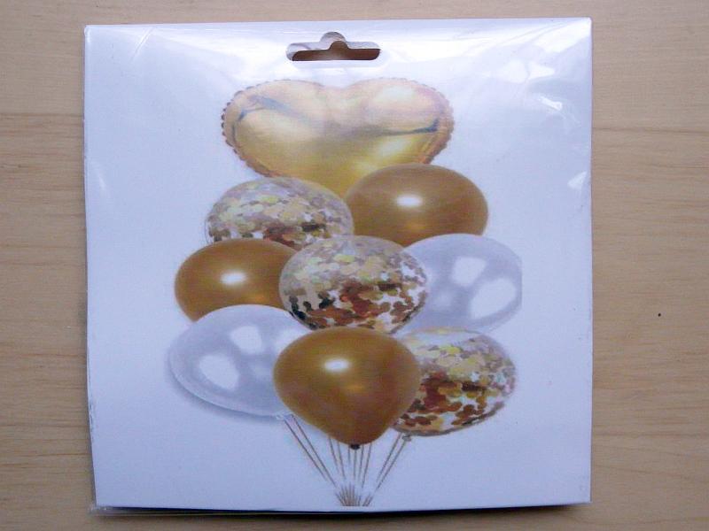 Nafukovací balonky, 9 ks - Obrázek č. 2
