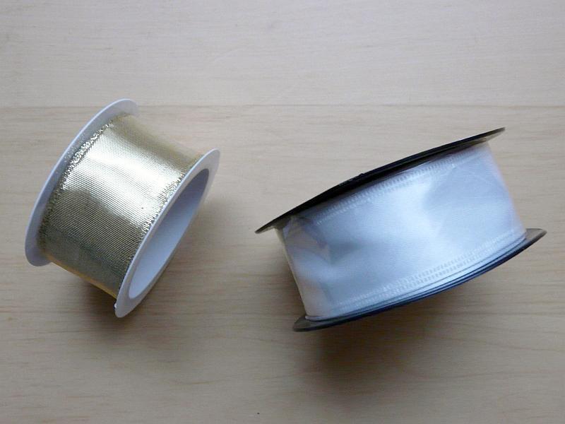 Stuhy zlatá a bílá, 2 ks - Obrázek č. 1