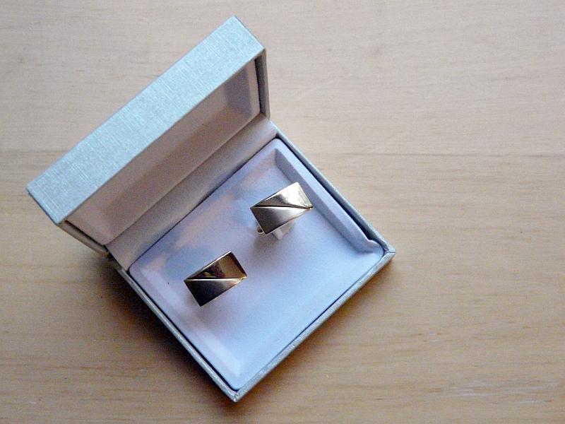 Manžetové knoflíčky v krabičce, 2 kusy (1 pár) - Obrázek č. 4