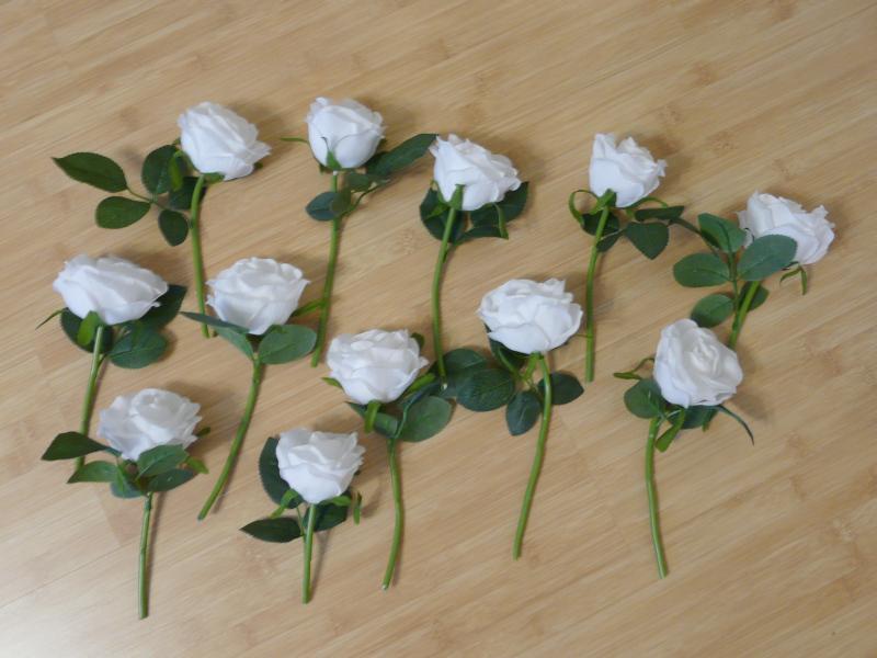 Květiny na květinové dekorace - Obrázek č. 3
